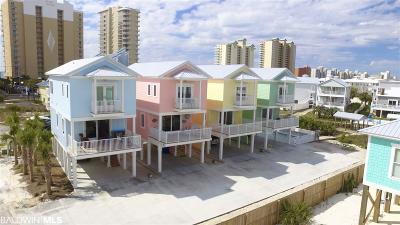 Gulf Shores Single Family Home For Sale: Unit B 7th Avenue