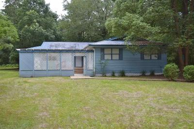 Silverhill Single Family Home Contingent On Sale: 16300 County Road 54