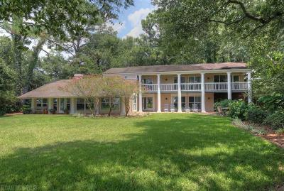 Fairhope Single Family Home For Sale: 13995 Scenic Highway 98