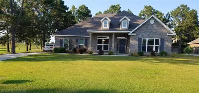 Foley Single Family Home For Sale: 9525 Lakeview Drive