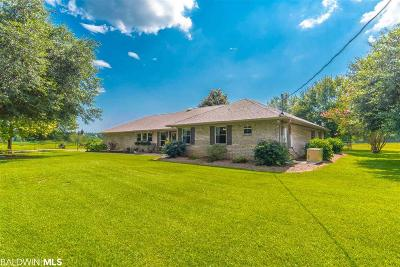 Fairhope Single Family Home For Sale: 16749 Old Pierce Road