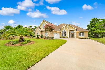 Orange Beach Single Family Home For Sale: 31219 River Road