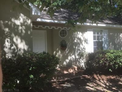 Daphne Single Family Home For Sale: 109 Meadow Wood Dr