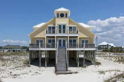 Gulf Shores Single Family Home For Sale: 2833 W Beach Blvd