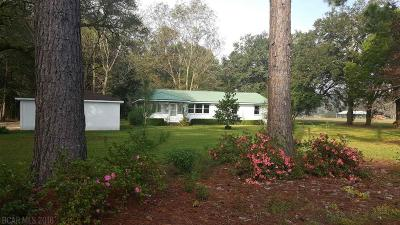 Daphne Single Family Home For Sale: 10407 Russ Road