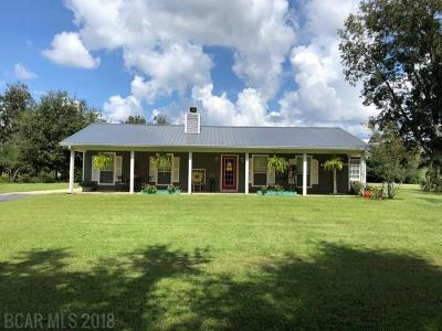 Loxley Single Family Home For Sale: 13935 Us Highway 90