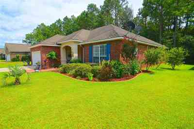 Foley Single Family Home For Sale: 3262 Bellingrath Drive