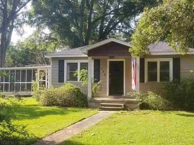 Fairhope Single Family Home For Sale: 812 Michigan Avenue
