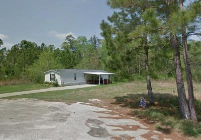 Elberta Single Family Home For Sale: 25165 Pompano Dr