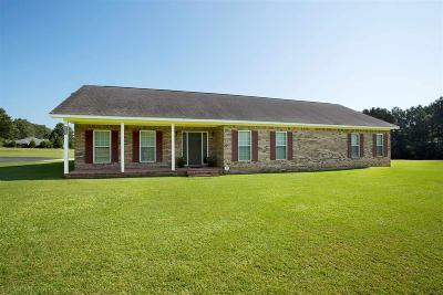 Mobile County Single Family Home For Sale: 8806 Jeff Hamilton Road