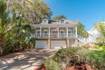Daphne Single Family Home For Sale: 28457 Bay Cliff Lane