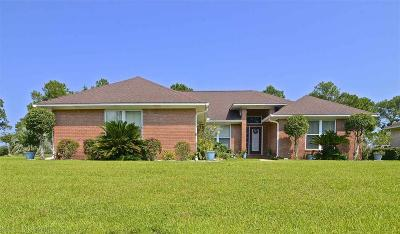 Foley Single Family Home For Sale: 9465 Clubhouse Drive
