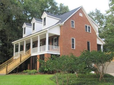 Daphne Single Family Home For Sale: 1203 Old County Road