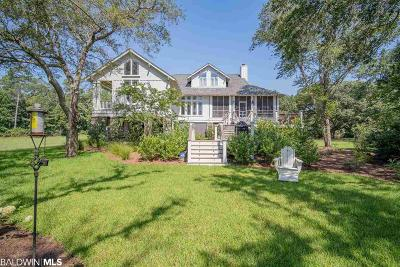 Fairhope Single Family Home For Sale: 16950 River Drive