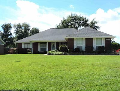 Loxley Single Family Home For Sale: 25409 Lakeland Drive