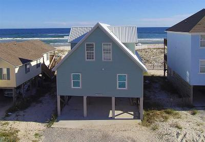 Gulf Shores Single Family Home For Sale: 1709 W Beach Blvd