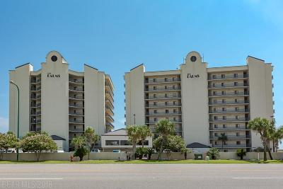 Orange Beach Condo/Townhouse For Sale: 26266 Perdido Beach Blvd #602