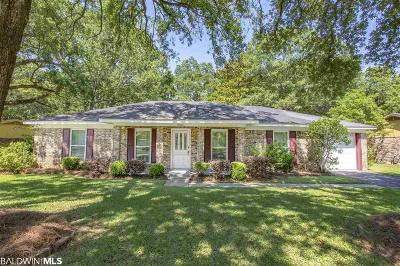 Mobile County Single Family Home For Sale: 5850 Woodgate Road
