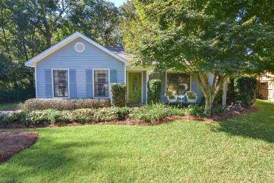 Fairhope Single Family Home For Sale: 354 Pecan Avenue