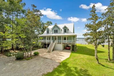 Foley Single Family Home For Sale: 10893 Weeks Bay Rd