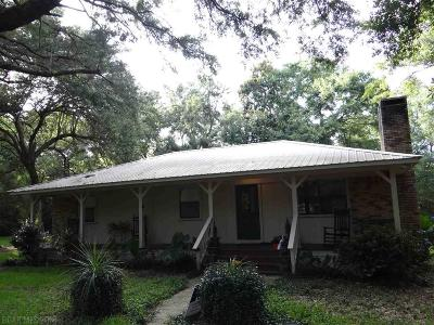 Magnolia Springs Single Family Home For Sale: 14021 County Road 26