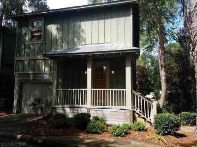Orange Beach Single Family Home For Sale: 25773 Canal Road #38