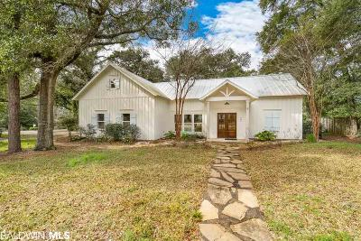Fairhope Single Family Home For Sale: 464 Liberty Street