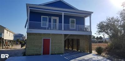 Gulf Shores Single Family Home For Sale: 1253 W Lagoon Avenue