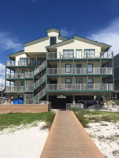 Gulf Shores Condo/Townhouse For Sale: 1149 W Beach Blvd #E-2
