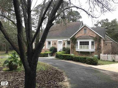 Fairhope Single Family Home For Sale: 18302 Woodland Drive