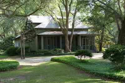 Magnolia Springs Single Family Home For Sale: 15177 Sweet Olive Circle