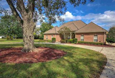 Fairhope Single Family Home For Sale: 13112 Saddlebrook Circle