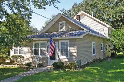 Fairhope AL Single Family Home For Sale: $389,000