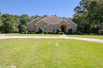 Mobile County Single Family Home For Sale: 3281 Benyard Drive