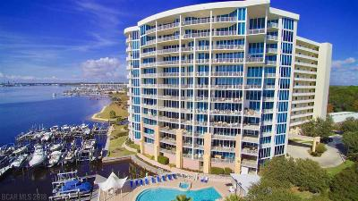 Gulf Shores, Orange Beach Condo/Townhouse For Sale: 28250 E Canal Road #908