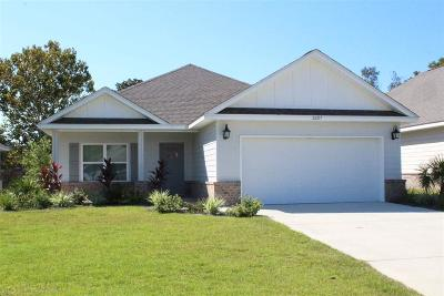 Orange Beach Single Family Home For Sale: 26217 St Lucia Drive