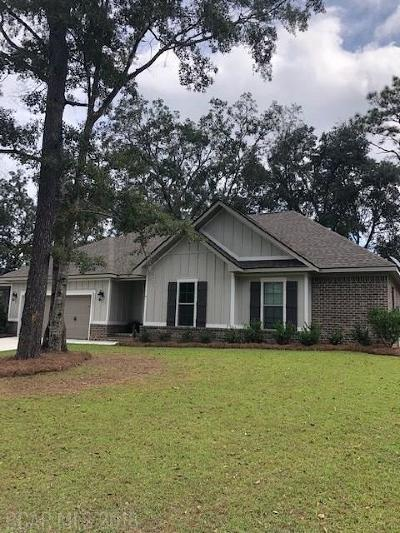 Fairhope Single Family Home For Sale: 19780 Bunker Loop