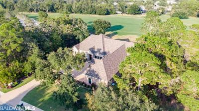 Bon Secour, Fairhope, Foley, Gulf Shores, Orange Beach Single Family Home For Sale: 415 Peninsula Blvd