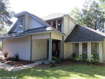 Fairhope Single Family Home For Sale: 19475 Scenic Highway 98