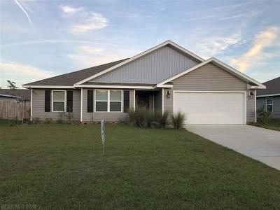 Gulf Shores Single Family Home For Sale: 6950 Crimson Lane