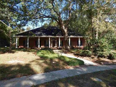 Mobile County Single Family Home For Sale: 2854 Briarfield Lane