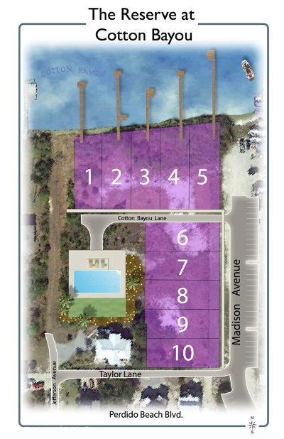 Orange Beach Residential Lots & Land For Sale: 4 Cotton Bayou Ln