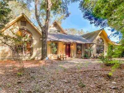 Silverhill Single Family Home For Sale: 19002 Rada Road