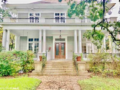 Mobile County Single Family Home For Sale: 1108 Government St