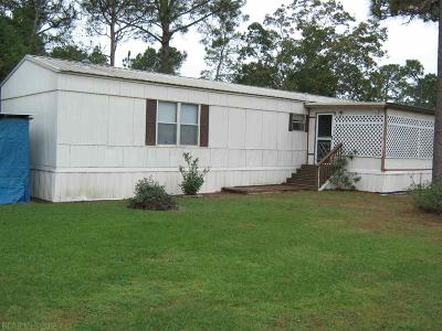 Orange Beach AL Single Family Home For Sale: $95,000