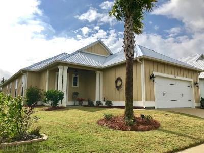 Orange Beach Single Family Home For Sale: 4916 E Cypress Loop