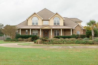 Baldwin County Single Family Home Contingent On Sale: 25135 County Road 49