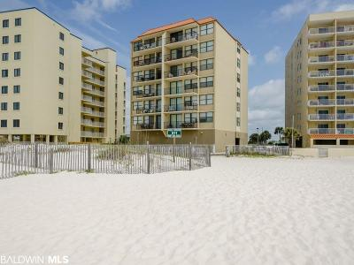 Gulf Shores, Orange Beach Condo/Townhouse For Sale: 511 E Beach Blvd #503