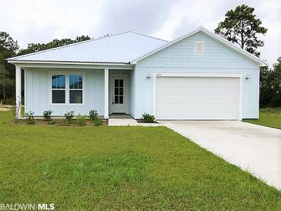 Gulf Shores Single Family Home For Sale: 1229 Dorado Way