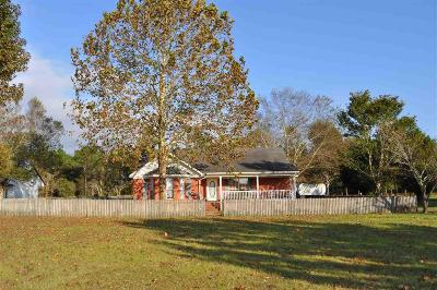 Robertsdale Single Family Home For Sale: 19020 Greek Cemetery Road